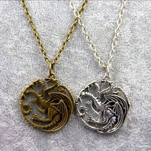 Jewelry - 🐉 Game of Thrones Necklace - Silver/Bronze